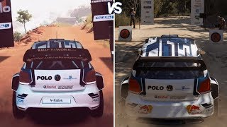 V-Rally 4 vs WRC 7 - Gameplay Comparison HD