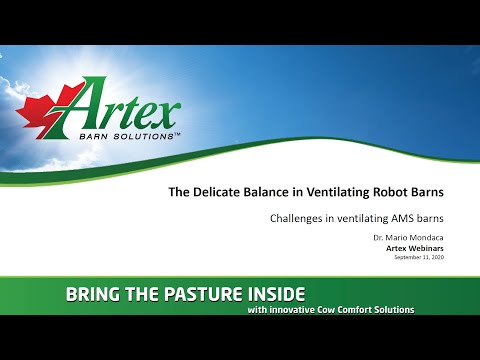 The Delicate Balance in Ventilating Robot Barns
