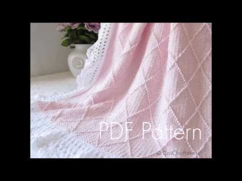 Paris Knit Baby Blanket 63 Ccp Knitting And Crochet Blanket