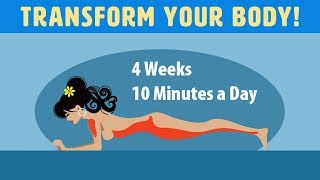 5 Exercises That Will Transform Your Body In Just 4 Weeks