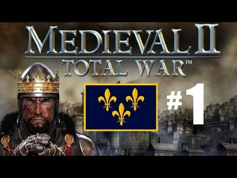 Medieval 2 Total War - France Campaign Part 1: Intro and Build Order.