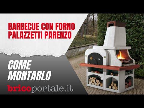 Barbecue Con Forno Palazzetti Parenzo Come Si Monta Youtube