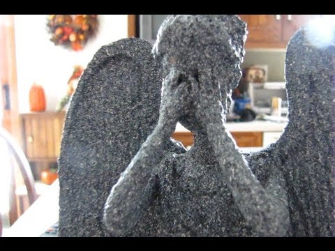 Weeping Angel Christmas Tree Topper Tutorial - YouTube