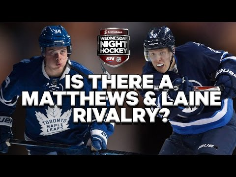 Is there really a Matthews and Laine rivalry?