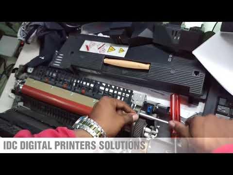 Paper jam problem in fuser for Xerox machine 7655,7755,7775,240,242,260,550,560  Solution