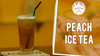 How To Make Peach Iced Tea || Summer Drinks