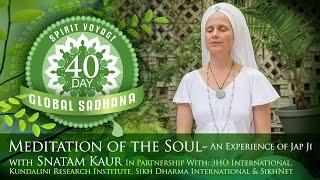 Spirit Voyage 40 Day Global Sadhana: Meditation of the Soul ...