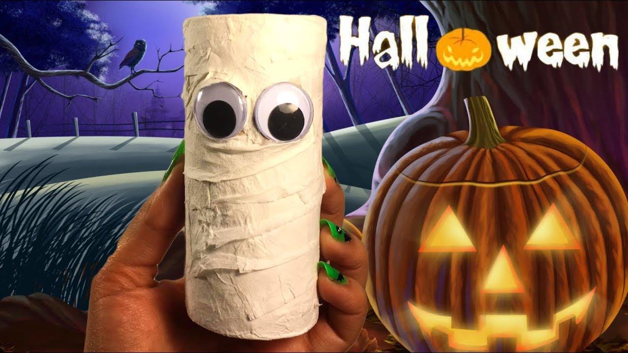 Leuke Halloween Traktaties.Mummie Pinata Als Traktatie Voor Halloween Knutselen
