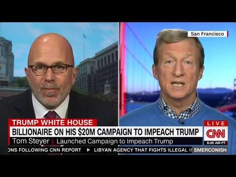 Billionaire Tom Steyer Spends $20M To Impeach TRUMP - Smerconish