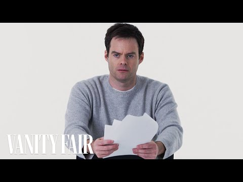 Bill Hader Gives the Worst Audition of All Time | Vanity Fair
