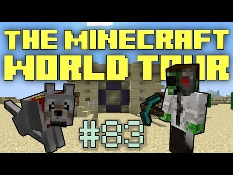 The Minecraft World Tour - #83: Secret Vault Door