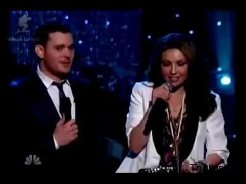Thalia y Michael Buble Feliz navidad / Mis deseos (Especial Christmas NBC) en VIVO