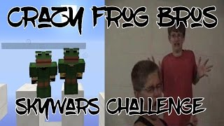 THE CRAZY FROG BROTHERS CHALLENGE Hypixel Skywars