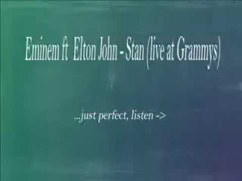 Eminem and elton john -stan (live at grammys) official video