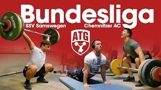 Bundesliga Weightlifting Full Session with Max Lang, Lukasz Grela SSV Samswegen vs Chemnitzer AC