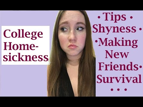 COLLEGE HOMESICKNESS: Prevention, Treatments, & the Ultimate Cure || miLAno