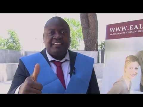 Videotestimonial: Osvaldo Manuel Joao (Angola) y EALDE Business School