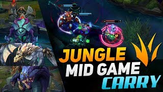 How to Jungle and CARRY THE MID GAME in SEASON 9!