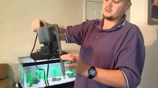 Review and how it works Fluval Aquaclear 50