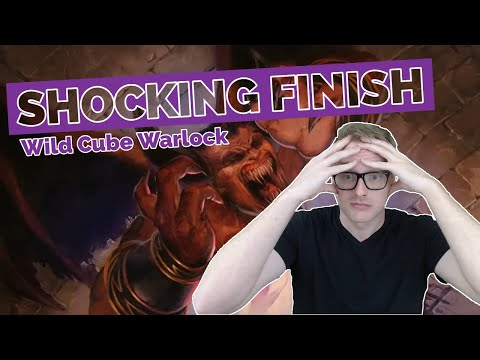 Hearthstone | Shocking Finish | Wild Cube Warlock | Rastakhan's Rumble | Legend Gameplay