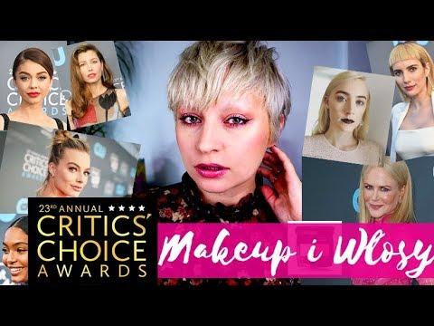 🔴 NAJLEPSZE MAKIJAŻE i WPADKI GWIAZD! - Critics' Choice Awards 2018 - ThePinkRook