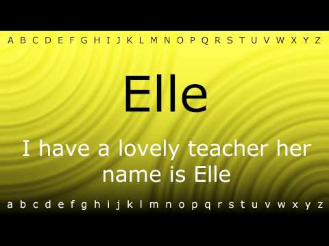 How to pronounce 'Elle' with Zira.mp4