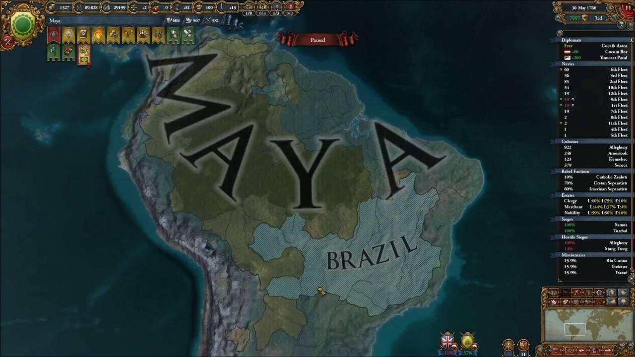 EU4 Mayan Speedplay #28: Our Wars Unfold