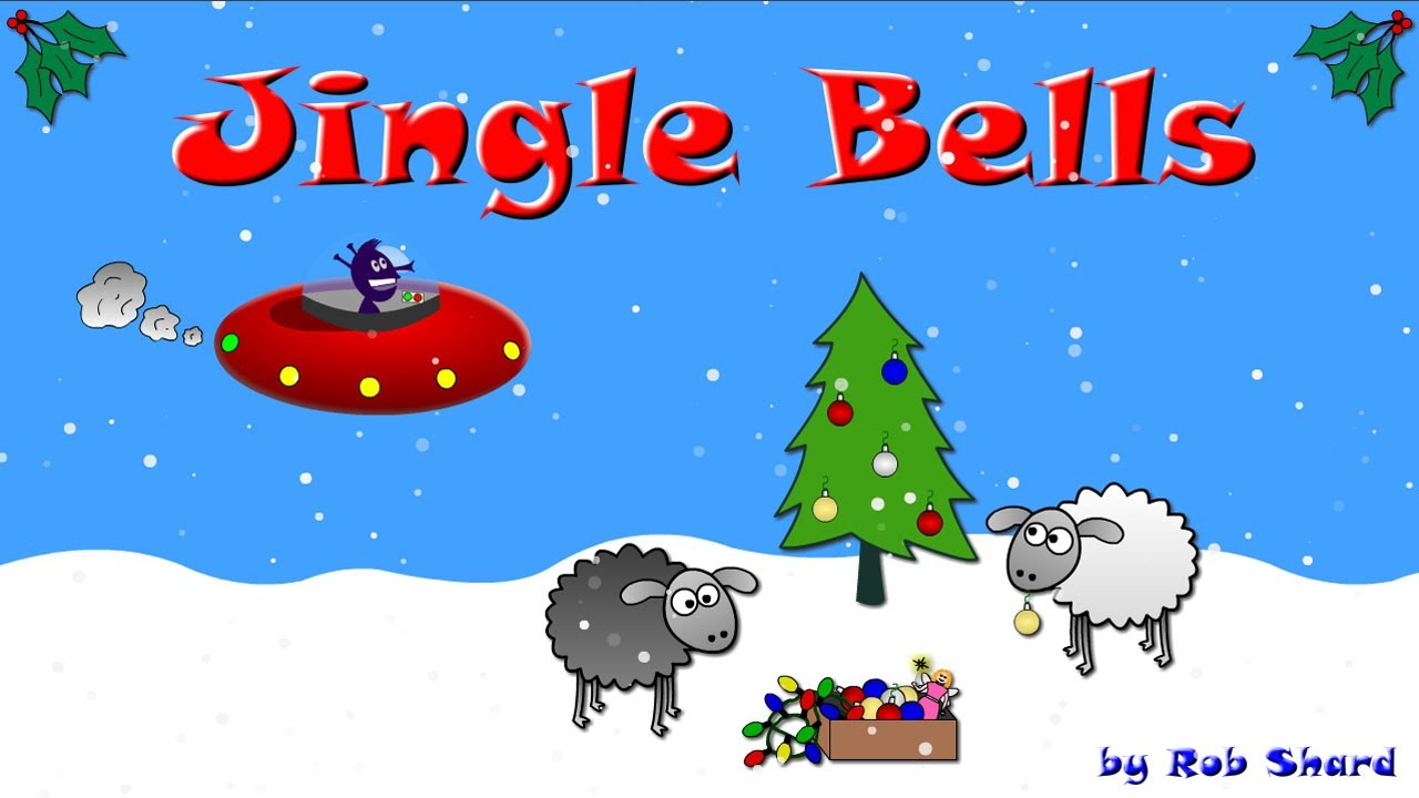 Jingle Bells - funny Christmas cartoon & song (Alien / Sheep Xmas ...