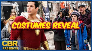 Shazam! Fury of the Gods Director Reveals the Team's New Costumes