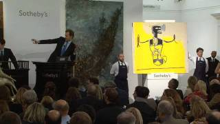 Auction Night: Jean-Michel Basquiat