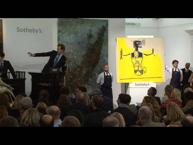 Jean-Michel Basquiat's 'Spike' | Auction Night