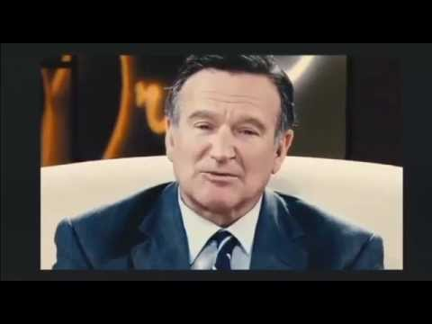 "Robin Williams - ""Suicide is a Permanent Solution to Temporary Problems"""