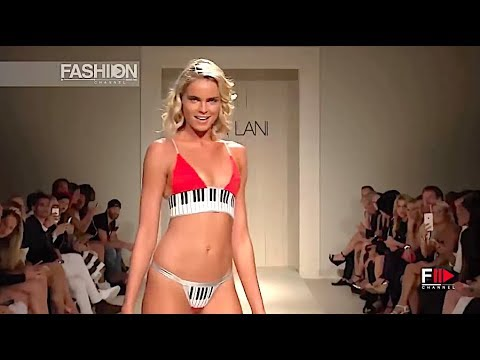LEE+LANI Swimwear Spring 2017 Miami - Fashion Channel