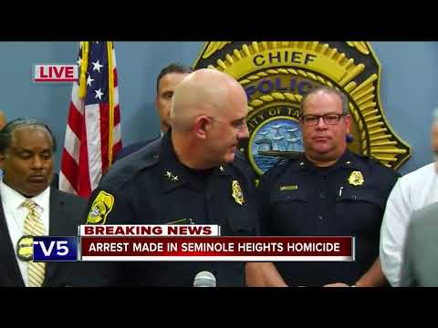 Seminole Heights killer arrested after Tampa Police receive tip
