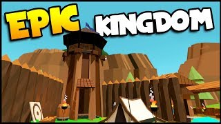 Building An EPIC NEW Kingdom & Castle! NEW No King No Kingdom Gameplay