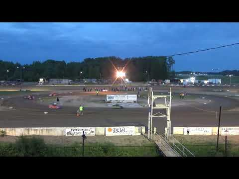 Mini Wedge Feature #1 at Mt. Pleasant Speedway on 06-15-18.