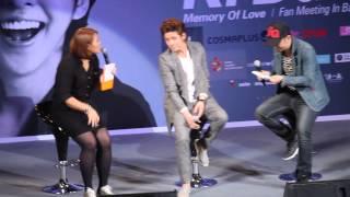 [HD] FANCAM 130329 Kim Kibum FMT Press con_01 @ CTW CR:@GaillEko