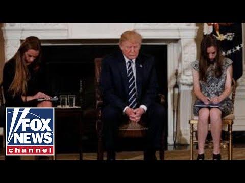 Trump signs religious