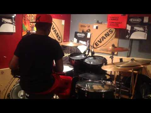 Practice Drum Cover - Wale ft. Usher - The Matrimony