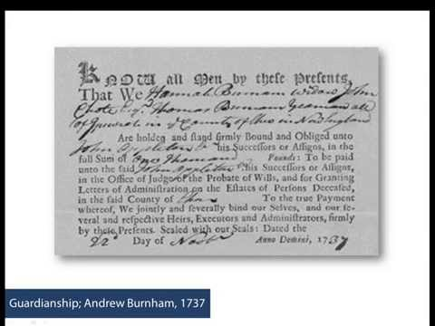 Using New England Probate Records
