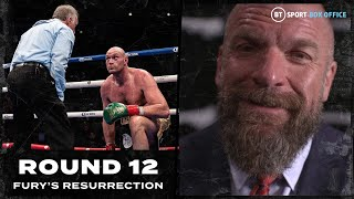 """The moment which looked scripted."" Triple H full interview 