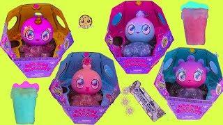 Squishy Jelly Belly Goo Goo Galaxy + DIY Grow Slime Drink Surprise Video