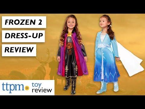 Frozen 2 Dress-up Toys From Jakks Pacific