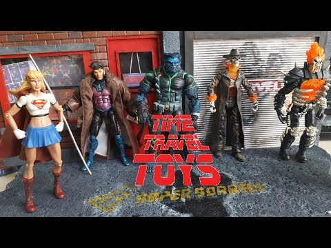 Time Travel Toys Marvel Legends Action Figures Review! - 동영상