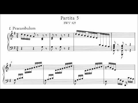 Bach: Keyboard Partita No.5 in G Major, BWV 829 (Goode, Levit)