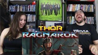 Thor RAGNAROK - Official Teaser Trailer Reaction / Review