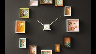 видео Делаем часы своими руками: самодельные часы в интерьере фото идеи, настенные часы своими руками