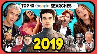 Baixar YouTubers React To Top 10 Google Searches 2019 (Google Year In Search 2019)