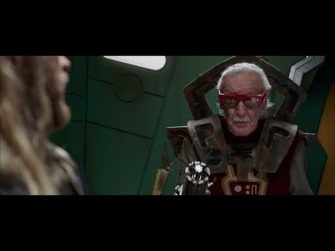 Thor Ragnarok Stan Lees Cameothor Gets Haircut Youtube