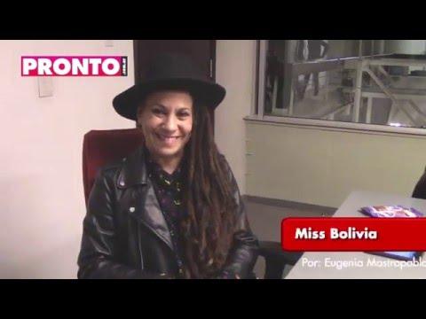 Miss Bolivia cuenta la historia detrás de Tomate el palo, el hit que grabó junto a Leo García